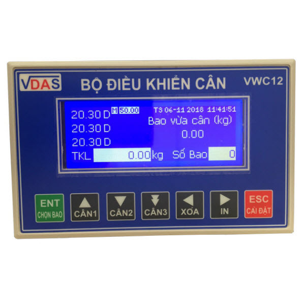 Bộ điều khiển cân đóng bao VWC12