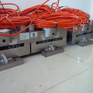 Lắp đặt Đầu cân DS1M với Loadcell số BTA-D hoặc VLC-121D