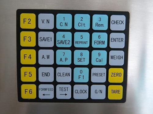 Bàn phím Đầu cân Kỹ thuật số Keli D2008FA
