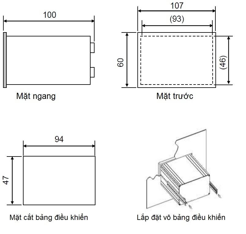 Lắp đặt đầu cân BST106-B60[S]