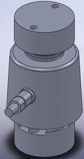 Mô hình 3D Load cells CLC